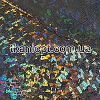 Ткань Голограмма (серебро)