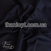 Ткань Дайвинг на флисе (черный)