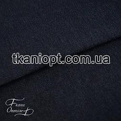Ткань Джинс на флисе (синий)