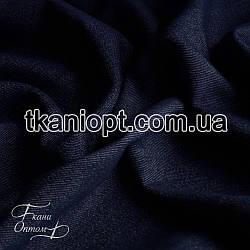 Ткань Джинсовая ткань (темно-синий)