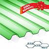 Весняна пропозиція! Зелений та синій профільний полікарбонат (прозорий шифер) за акційною ціною!