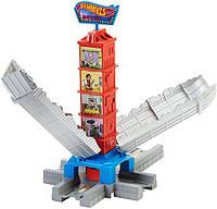 Хот Вилс Игровой элемент для построения треков Небоскреб Hot Wheels Track Builder Deluxe Busted Building