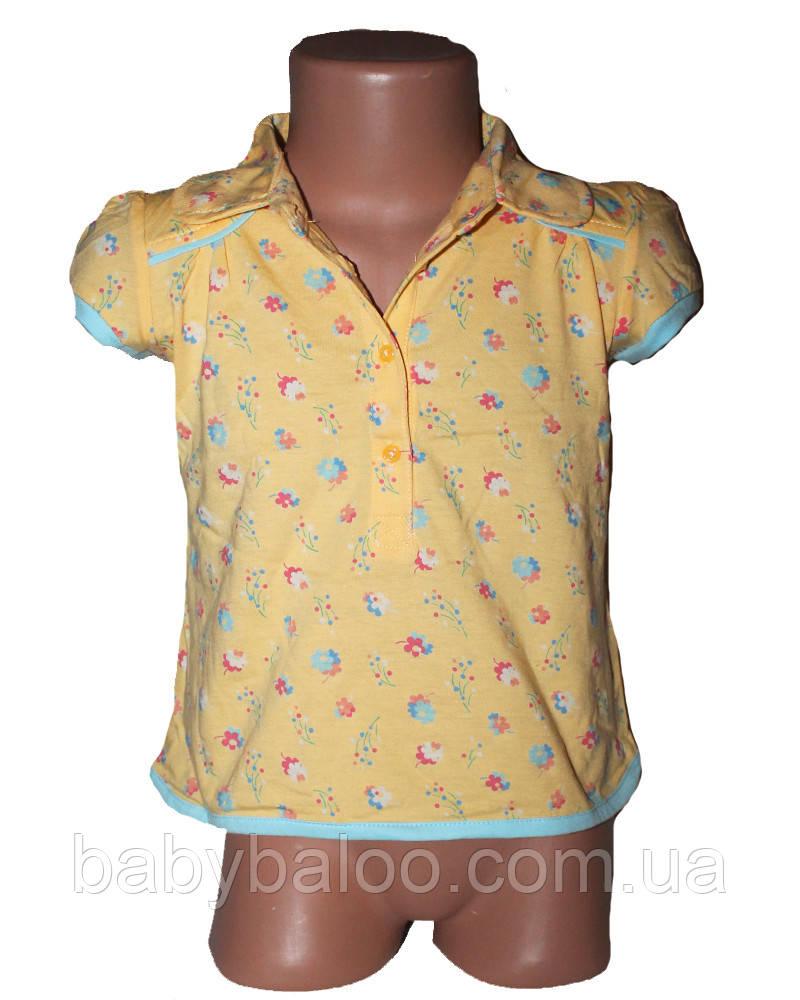 Хлопковая детская рубашка (от 1 до 4 лет)