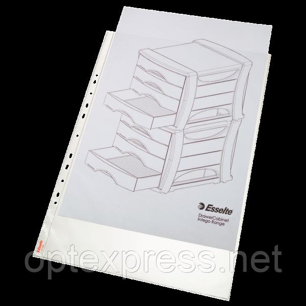 Файлы матовые A3 Esselte, вертикальные 75 мик., 10 шт.