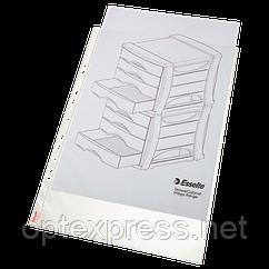 Файли матові A3 Esselte, вертикальні 75 мік., 10 шт.