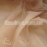Ткань Евро сетка (топленое молоко)