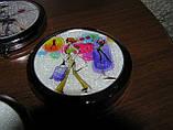 Зеркальце карманное двустороннее Романтик-Арт d-7см, фото 2