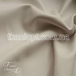 Ткань Кожзам на замшевой основе (белый)