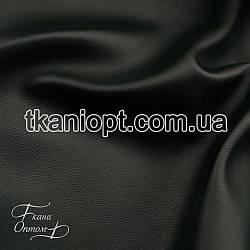 Ткань Кожзам на замшевой основе (бутылочный)