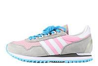 Женские кроссовки Adidas  ZX400 Grey Pink, фото 1