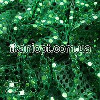 Ткань Копейка (трава на зеленом)