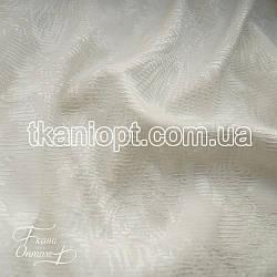 Ткань Костюмка жаккард (молочный)