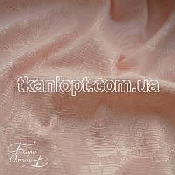 Ткань Костюмка жаккард (персиковый)