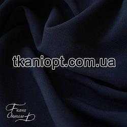 Ткань Костюмная ткань анжелика (темно-синий)