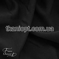 Ткань Костюмная ткань анжелика ( черная  )