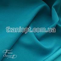 Ткань Костюмная ткань креп (бирюза)