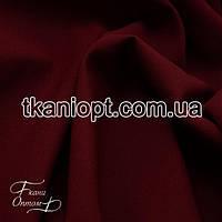 Ткань Костюмная ткань креп (бордо)