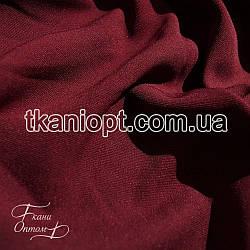 Ткань Кристина однотонный (бордовый)