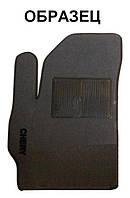 Ворсовый водительский коврик для Honda CR-V  II 2001-2006 (АКПП) (IDEA)
