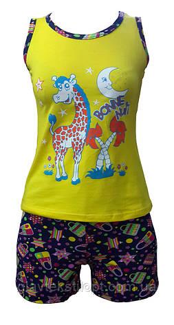 Летняя пижама с шортами, фото 2