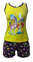Летняя пижама с шортами