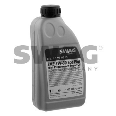 Синтетическое моторное масло SWAG 5W30 1л.Longlife ( MB 229.51 , VW 502 00/505 00 , BMW LL-04 , GM Dexos2 )