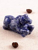 Сувенир фигурка из лазурита натурального Лошадь