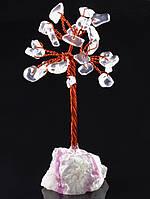 Дерево сувенирное из горного хрусталя