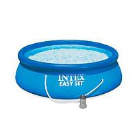 Наливной бассейн Intex 28142 с картриджным фильтром (366-84 см)
