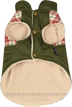"""Куртка для собак и щенков """"ВОЛК"""", размер S,  оливковый, фото 2"""