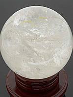 Большой шар из горного хрусталя натурального
