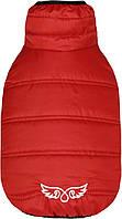 """Куртка """"ФЛАЙ"""" для собак и щенков, демисезон, красный, размер S 23/32см"""