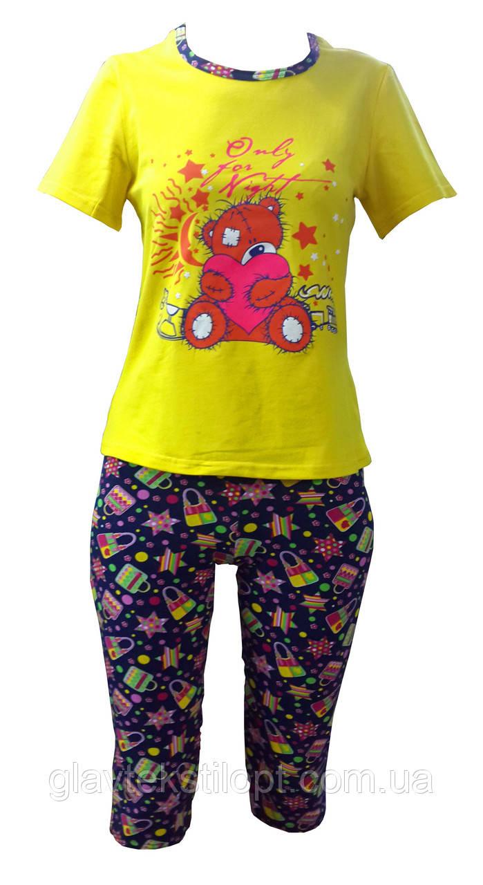 Летняя пижама с капри