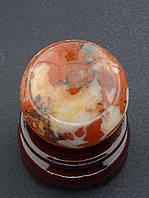 Маленький шар из натуральной яшмы