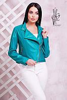 Женская куртка кожзам косуха Блейт-1