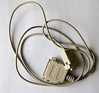Кабель COM RS-232 DB9-DB25 мама-папа 1,5 м полный