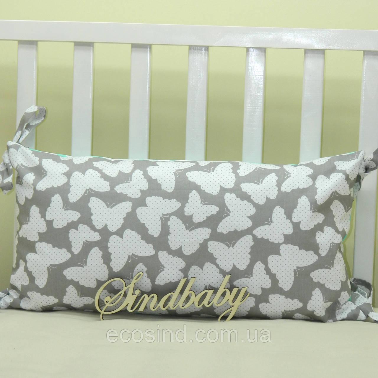Бортики подушки в кроватку, Подушка 30х60 -22