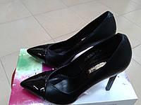 НОВИНКА! Женские классические  туфли на высокой  шпильке FOLETTI  F 10                                  , фото 1