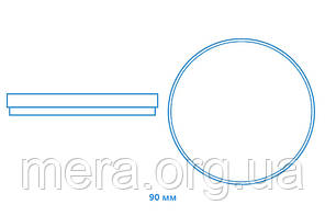 Чашка Петри 90мм, без вентиляционных отверстий, полистирол, стерильная, фото 2