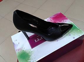 НОВИНКА! Женские классические  туфли на высокой  шпильке FOLETTI  F 10                                  , фото 2