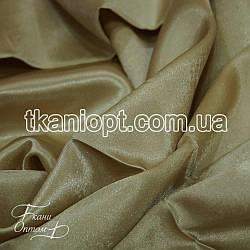 Ткань Креп сатин (бежевый)