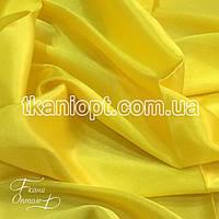Ткань Креп сатин ( желтый )