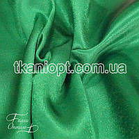 Ткань Креп сатин ( Зеленая трава )