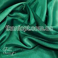 Ткань Креп сатин ( изумруд )