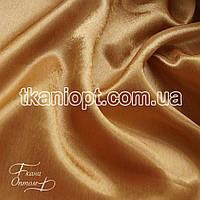 Ткань Креп сатин ( темно золотой )