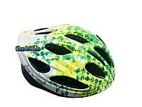 Шлем детский для роликов салатовый