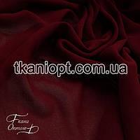 Ткань Креп шифон (марсала)