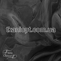 Ткань Кристалин органза (черный)