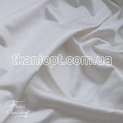 Ткань Трикотаж кристалл (молочный)
