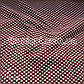 Ткань кукуруза крупная соты (бордо-белый), фото 2